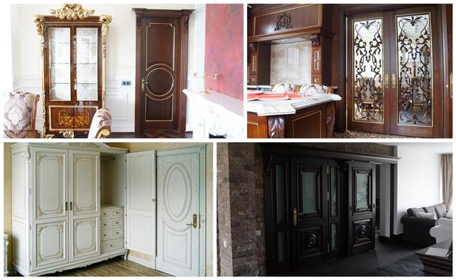 Medinės vidaus durys gaminamos Panevėžyje